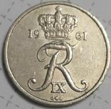 Дания 10 оре 1961, фото №3