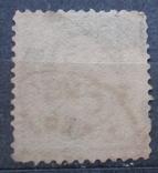 США 1890 г., 30 центов, 40, тонкое место, фото №3