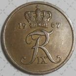 Дания 5 оре 1967, фото №3