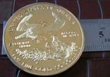 50 доларів 2011 року.США /репліка-копія /позолота 999., фото №4