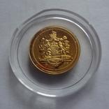 Король Баварии Людвиг 1864-1886 золото 1,55 г, фото №6