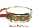 Барабан детский СССР, фото №4