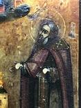 Икона Св. Зосима и Св. Саватий в серебряном окладе. 1877 год Поволжье, фото №6