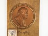 Картина Барельеф Портрет Сувенир Ленин Сталин, фото №5