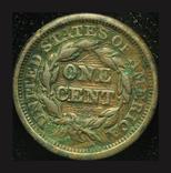 США цент 1845, фото №3