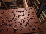 Прищепки зажимы металические для занавесок СССР, фото №3