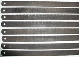 Полотна Тонкие-ножовочные новые по металлу 17-шт. для ручных пил из СССР, фото №8