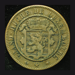 Люксембург 10 сентим 1860, фото №2