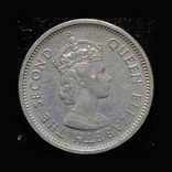 Британские Карибы 10 центов 1965, фото №3