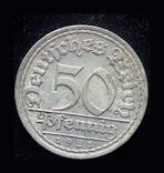 Германия 50 пфеннигов 1921 Unc, фото №2