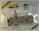 """Коробка конфетная """"Мюнхен"""", жесть. Без повреждений., фото №3"""