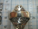 Серебряное Кольцо Размер 16.75 Серебро 925 проба 562, фото №6