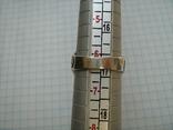 Серебряное Кольцо Размер 16.75 Серебро 925 проба 562, фото №9