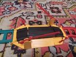 Железная дорога электромеханическая игрушка СССР. В коробке., фото №5