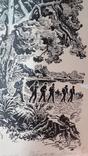 Неймарк Л. Літо туристичне 1983р. малюнок туш, фото №6
