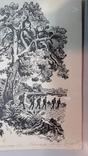 Неймарк Л. Літо туристичне 1983р. малюнок туш, фото №8