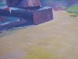 """В.Кнышевский """"На Болдиных горах"""",х.м.40х60см,1982г, фото №9"""