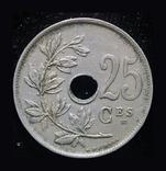 Бельгия 25 сантим 1923, фото №2