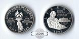 США 1/2 доллара 1993 Медисон Пруф серебро, фото №2