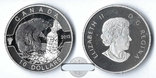 Канада 10 долларов 2013 БОБР серебро Пруф, фото №2