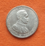 Германия 5 марок 1913 Мундир серебро Юбилей СОХРАН, фото №2