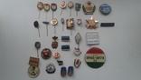 Знаки в тяжелом металле Венгрия старые .32 штуки, фото №2