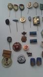 Знаки в тяжелом металле Венгрия старые .32 штуки, фото №5