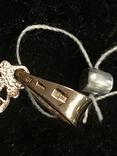 Золотой крестин с биркой, фото №4