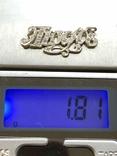 Кулон Люда из серебра, фото №3