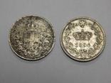 2 монеты по 20 центесими, Италия, фото №3