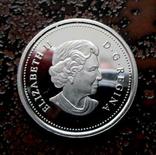 25 центов Канада 2004 серебро, фото №2