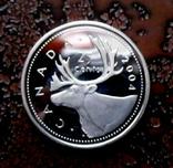25 центов Канада 2004 серебро, фото №5