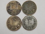 4 монеты по 1 скиллингу, Дания, фото №3