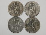 4 монеты по 5 оре, Норвегия, фото №3