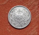 1/2 марки 1907 г. (G) Германия, серебро, фото №4