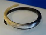 """Старенький браслет """"Змейка"""" из натуральной кости., фото №12"""