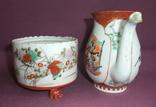Чайник и сахарница Япония ручная роспись ХIXв. - начало XX в., фото №4