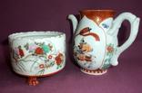 Чайник и сахарница Япония ручная роспись ХIXв. - начало XX в., фото №8