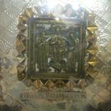 Икона из части складня. Господь Вседержитель., фото №6