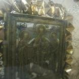 Икона из части складня. Господь Вседержитель., фото №8