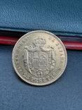 25 песет 1878. Испания. Золото., фото №6