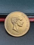 25 песет 1878. Испания. Золото., фото №2