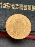 20 лир 1891. Италия. Золото., фото №4
