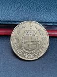 20 лир 1891. Италия. Золото., фото №5