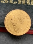 20 лир 1891. Италия. Золото., фото №7
