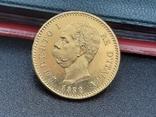 20 лир 1882. Италия. Золото., фото №5