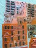 Радиодетали - платы СССР на вес 1,1 кг (остатки деталей), фото №3