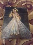 Старинна ікона на полотні, фото №2