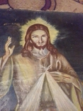 Старинна ікона на полотні, фото №5