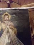 Старинна ікона на полотні, фото №8